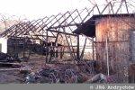 Zniszczona stodoła