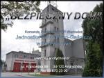 """""""Bezpieczny Dom"""" w JRG Andrychów"""